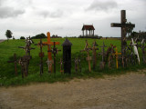 Arrival at the Hill of Crosses