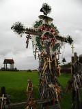 Heavily adorned crucifix