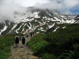Pathway to Raichō-zawa
