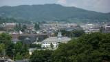 View northwards to the Kaichi Gakkō