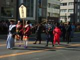Edo-period procession
