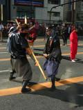 Edo-period warriors
