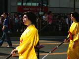 Pair of women in Edo-period dress
