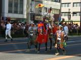Man dressed as Oda Nobunaga