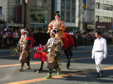 Oda Nobunaga's wife on horseback