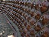 Wall of shōchū pots
