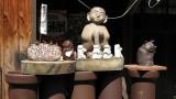Display of various ceramics