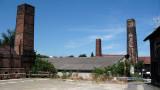 Brick kiln chimneys in Tokoname