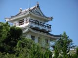Modern Ōno-jō in Shiroyama-kōen