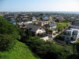 View over Tokoname's northern suburbs