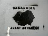 Pro-Romanian graffiti