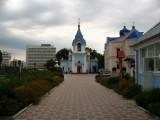 Entering the grounds of Ciuflea Church