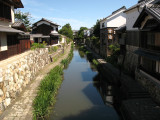 View over the moat from Hakuun-bashi
