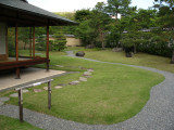Gently minimalistic grounds of the Cha-no-niwa