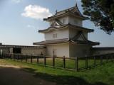 Hitsujisaru-yagura and protective fence