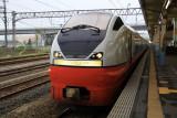 Limited Express Tsugaru train at Aomori Station