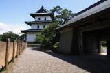 Honmaru-gomon and donjon, Matsumae-jō