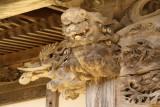 Main hall detail, Ryūun-in