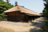 Preserved guardhouse for Edo-era soldiers