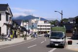 Main street through Matsumae