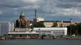 Waterfront view with Uspensky Cathedral