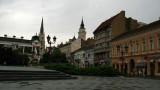 Square at Jervrejska and Pap Pavla