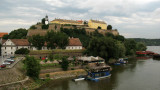 View of the citadel from Varadin Bridge