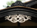 Roof detail on the Iwahashi-ke residence