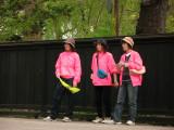 Local volunteer tourist assistants