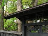 Buke-yashiki gate corner
