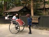 Rickshaw out front of Ishiguro-ke