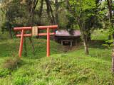 Shrine on the side of Mt. Furoshiro