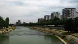 Tower blocks along the Vardar River