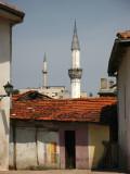 Minarets overlooking Čaršija