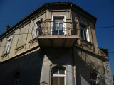Balcony on a house in Ohrid's old town