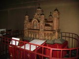 Scale model of St. Mark's inside the church