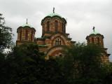 Three domes of St. Mark's