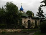 Russian Church behind Sveti Marko