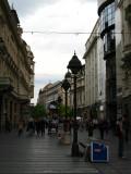 A grey day over Knez Mihailova