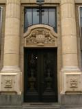 Ornate entryway, Knez Mihailova