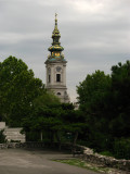 Saborna Crkva from Kalemegdan Park