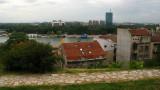 View of the Sava with Novi Beograd skyline