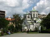 Smaller Orthodox Church beside St. Sava's