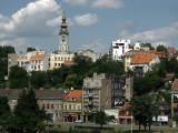 Belgrade's Stari Grad from across the Sava