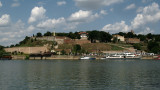 Kalemegdan Citadel from across the Sava