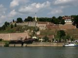 Citadel fortifications with Pobednik statue
