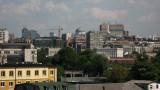 Central Belgrade skyline with Sveti Sava
