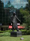 Statue of writer Branislav Nušić