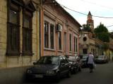 Quiet Central European-style backstreet, Zemun