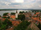 View over Zemun and the Danube from Gardoš